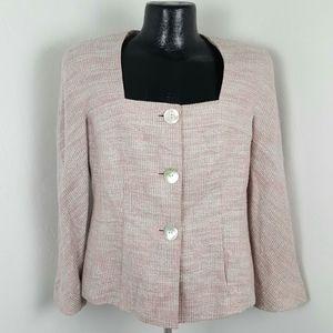 Lafayette 148 New York women blazer button size 10